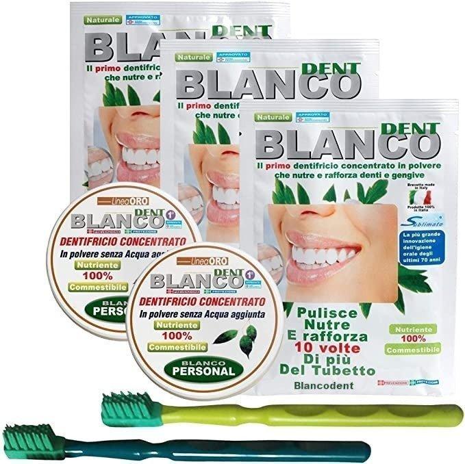 2 kit completi con spazzolini OralGum nostro Brevetto ed 1 busta in OMAGGIO